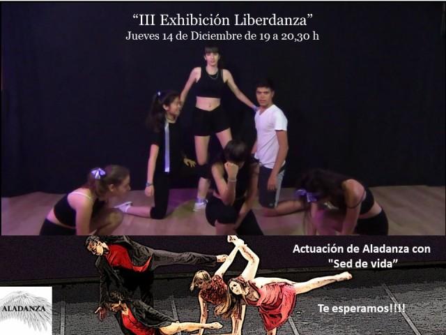 III Exhibición Liberdanza cartel evento
