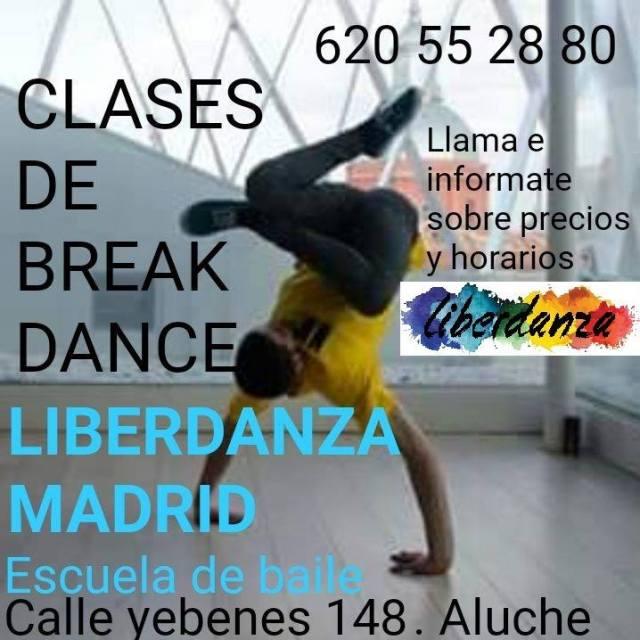 Clases break dance
