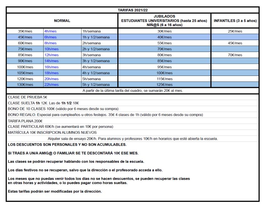 2021-07-05; tarifas 2021_22